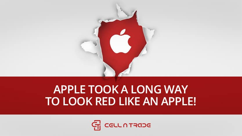 Apple Took A Long Way To Look Red Like An Apple!